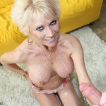 Nikki Sixxx Gets Her Tits Blasted With Cum
