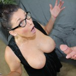 Cougar Stacie Starr Gets Blasted With Cum
