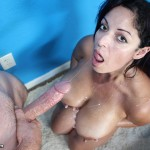 Raquel Raxxx Gets Her Monster Tits Frosted POV-Style