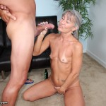 older babe jerking off her horny step son