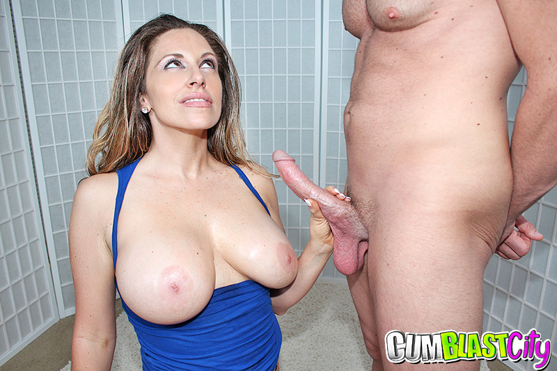 Big shot milf cock cum