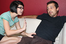 Petite Teen Jerking Off Her Brothers Best Friend - Picture 2