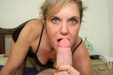 Hot And Sexy Step Mom Gets A Monster Facial From Her Step Son