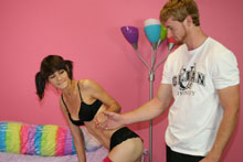 Teen Chloe Handjob And Cum Blast - Picture 1