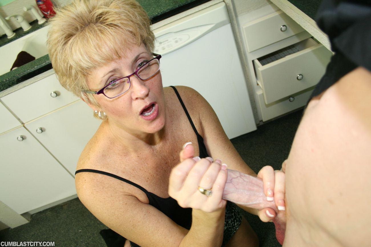 Blonde naughty striptease turns
