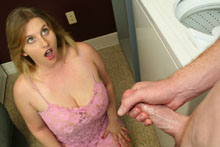 Teen Raina Makes It Rain By  Gets A Huge Cum Blast - Picture 9