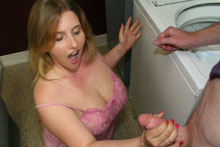 Teen Raina Makes It Rain By  Gets A Huge Cum Blast - Picture 10