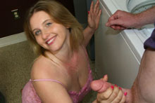 Teen Raina Makes It Rain By  Gets A Huge Cum Blast - Picture 11