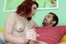 Horny Babe Sadie Milking Her Boyfriends Brother - Picture 7