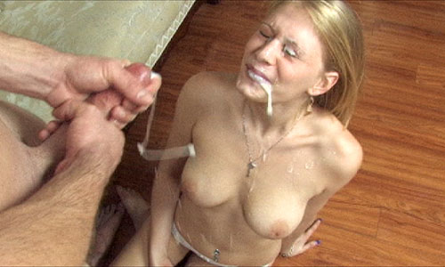 Allie james cumshot
