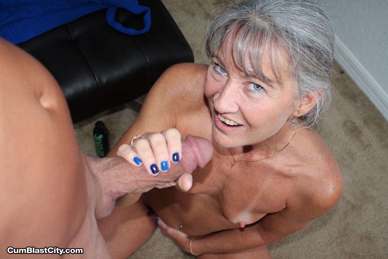 granny porn shot Cum